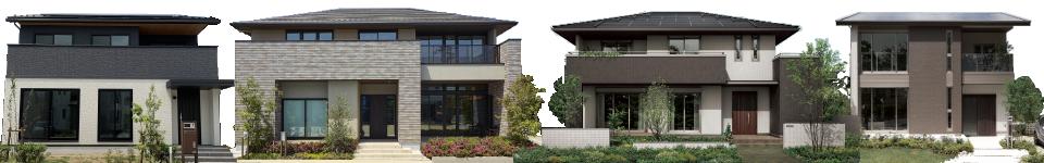 完成宅やモデルハウスの画像